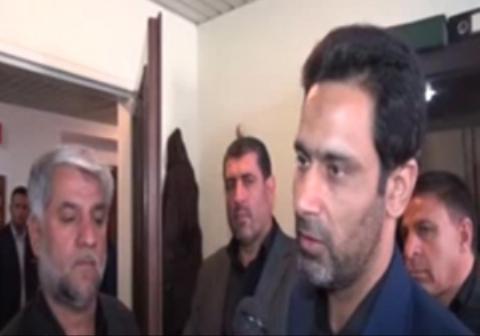 کارمندی که حین حمله داعشیها به مجلس پشت درب مخفی شد!