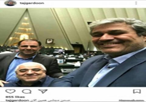 ماجرای سلفی گرفتن نمایندگان در اوج حادثه تروریستی مجلس