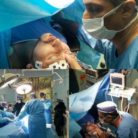 جراحی با هیپنوتیزم در مشهد!