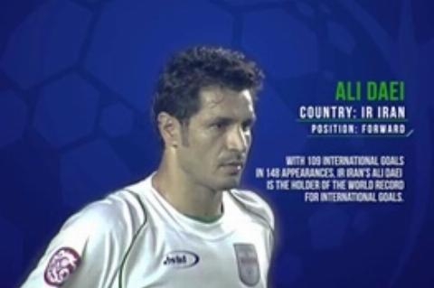 ویدئوی ایافسی برای تمجید از علی دایی اسطوره فوتبال آسیا