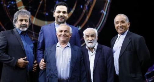 پشت صحنه های هیجان انگیز ماه عسل احسان علیخانی با حضور پیرمردهای عشق سینما