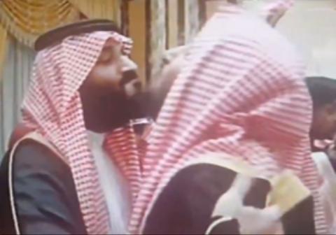 همجنس بازی شاهزاده سعودی با ولیعهد جدید کشورش در  یک مراسم
