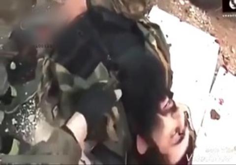 فیلمی از لحظه به درک واصل شدن خلیفه جنایتکار داعش