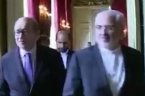 ماجرای امتناع وزیر خارجه فرانسه از دست دادن با ظریف چه بود؟