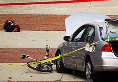 رانندگی جنون آمیز در شهر به زیر گرفتن یک زن و دو بچه منجر شد