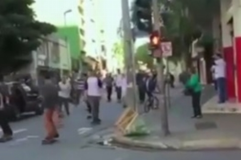 حادثه عجیب و شوکهکننده در روز جهانی اسکیت بورد در برزیل