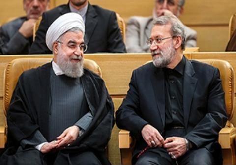 پاسخ جالب رئیس مجلس به پیشنهاد رئیس جمهور درباره تعطیلی دستگاه قضا /کنایههای روحانی در همایش قوه قضائیه و پاسخ لاریجانی