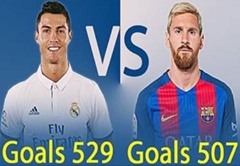 مقایسه آماری مسی و رونالدو از زمان حضور در فوتبال