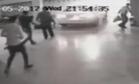 حمله ۳ زورگیر با اسید به فردی در رودهن