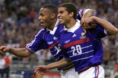 گلهای بازی پیشکسوتان ایتالیا 2-4 فرانسه
