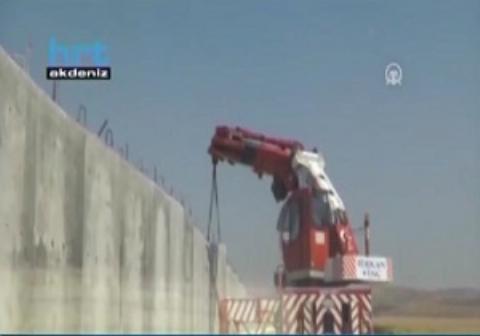 آغاز دیوارکشی مرزی ترکیه با ایران