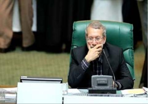 رکورد لاریجانی در گفتن بفرمایید بنشینید به نمایندگان مجلس