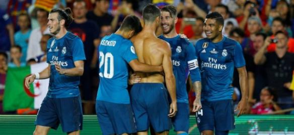 بارسلونا ۱ - ۳ رئال مادرید؛ فتح نیوکمپ با ۱۰ نفر