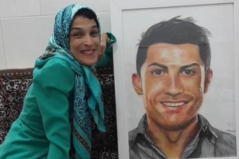 آیا کریس رونالدو عاشق این دختر ایرانی می شود؟/ عکس پرسروصدایی که فضای مجازی را به تکاپو انداخت