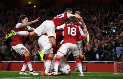 آرسنال ۴-۳ لسترسیتی؛ آغاز لیگ برتر با جشنواره گل در ورزشگاه امارات