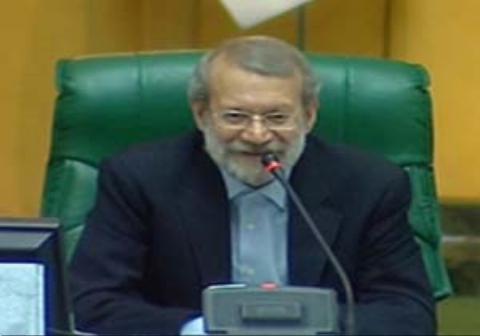 شوخی جالب لاریجانی با وزیر پیشنهادی ورزش