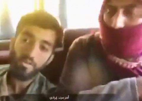 لحظه اسارت شهید مدافع حرم محسن حججی به دست داعش
