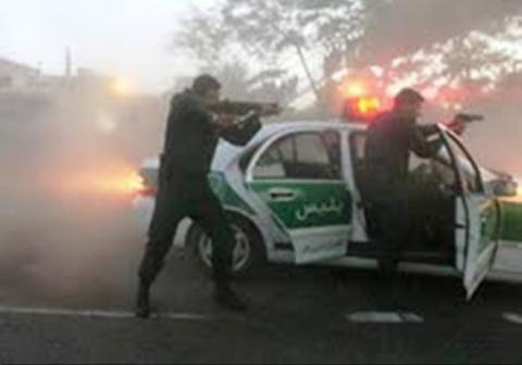 تعقیب و گریز نفسگیر پلیس با اعضای باند قاچاق مشروب