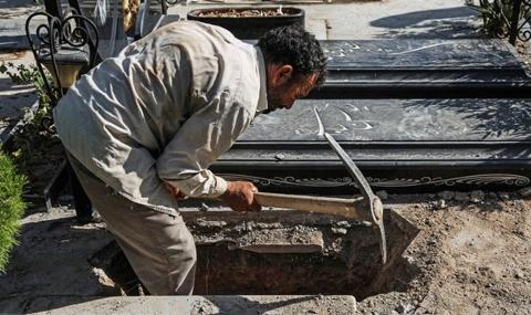 نوحه خوانی جانسوز پدر پسر11 ساله حین خاکسپاری در بهشت زهرا /همسایه شیطان صفت در انتظار اعدام