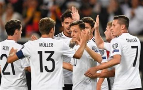 تیم آلمان در خانه با ۶ گل مقابل نروژ پیروز شد تا به صعود نزدیک تر شود