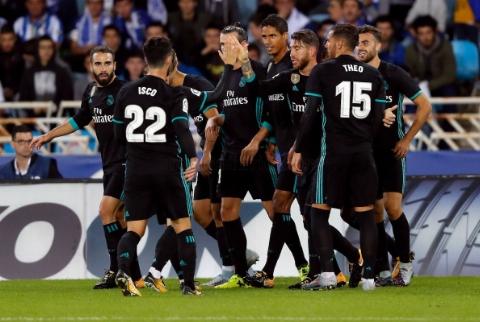 رئال سوسیداد ۱ - ۳ رئال مادرید؛ بازگشت به مسیر پیروزی و برابری با رکورد سانتوس