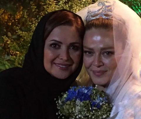 عکس های مراسم عروسی بهاره رهنما و همسرش را ببینید