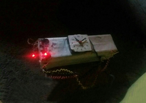 انفجار مهیب بمب حوالی منزل شهید حججی