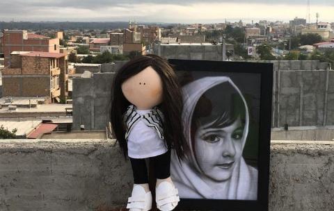عروسک مرموزی که برای خانواده آتنا اصلانی ارسال شد