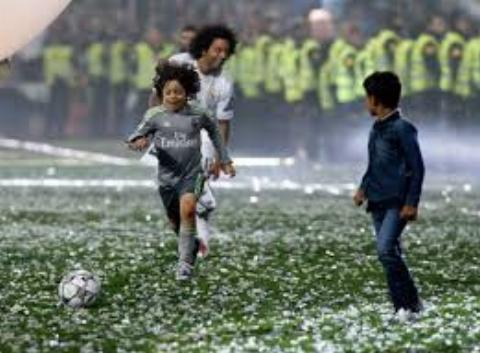 اولین هتریک پسر مارسلو در رئال مادرید