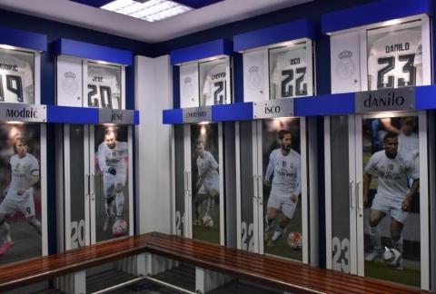 حرکات عجیب و غریب ستاره های رئال مادرید در رختکن/تکنیکی ترین فوتبالیست های دنیا را ببینید