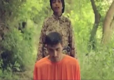 تهدید کودک داعشی علیه ایران به زبان فارسی