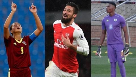 سه نامزد نهایی جایزه گل برتر سال ۲۰۱۷ مشخص شدند