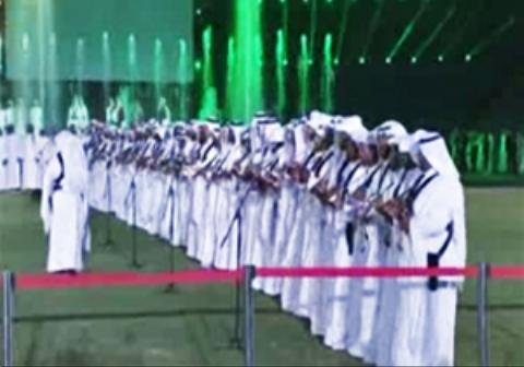 رقص و پایکوبی عربستانی ها همزمان با آغاز ماه محرم!