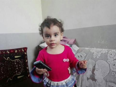 مادر بی رحم ایرانی سر دختر دوساله اش را از تن جدا کرد!