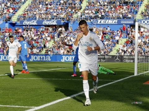ختافه ۱ - ۲ رئال مادرید؛ هدیه ۳ امتیازی رونالدو به زیدان