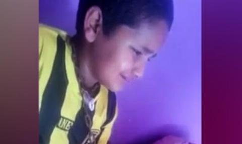تنبیه وحشیانه پسربچه توسط پدر بی رحم سعودی