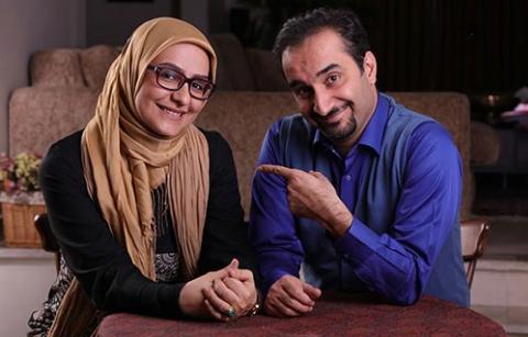 خبرسازترین زن و شوهر تلویزیون ایران از به آغوش کشیدن یکدیگر روی آنتن زنده گفتند: خیلی وقت ها در نوع مجری گری مان اختلاف نظر داریم/نیما کرمی و زینب زارع در اولین گفتگویشان بعد از یک برنامه پراتفاق در تی وی پلاس