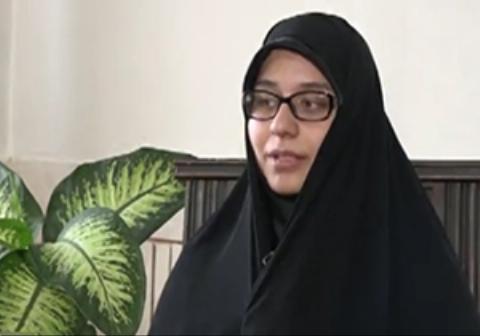 همسر شهید حججی: تقدیمش کردم به حضرت زینب/ دشمن ذره ای فکر نکند که اراده ی ما ضعیف شده است