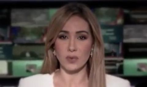 اقدام و گاف عجیب مجری العربیه در پخش زنده + فیلم