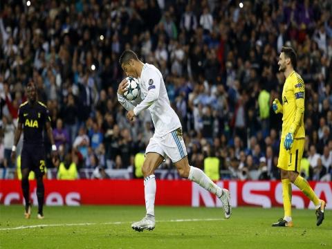 تساوی رئال مادرید مقابل تاتنهام در لیگ قهرمانان ار | تی وی پلاس