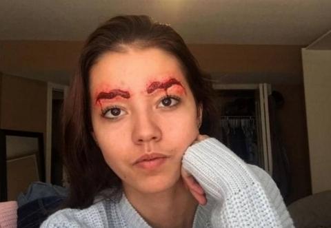 عکس های ترسناک ترین دختر دنیا را ببینید