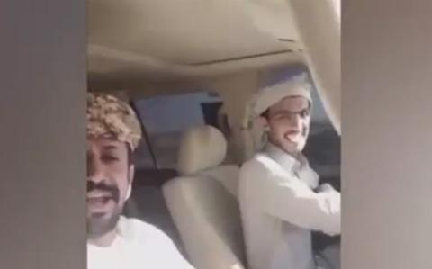 فیلم: لحظه دلخراش مرگ دو عربستانی حین خوش گذرانی و ماشین بازی