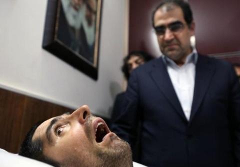 فیلم لحظه درگیری پلیس ایران با گروهک تروریستی در لار