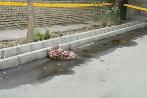 عکس: کشف جسد تکه تکه شده یک زن بین زباله ها/ سگ گرسنه دست زن جوان را به دندان گرفت