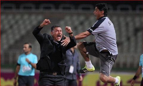 شادی خطرناک بعد از گل علی دایی و رفیق فابریکش، سوژه شد