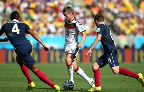 آلمان ۲-۲ فرانسه؛ آلمان باز هم شکست نخورد