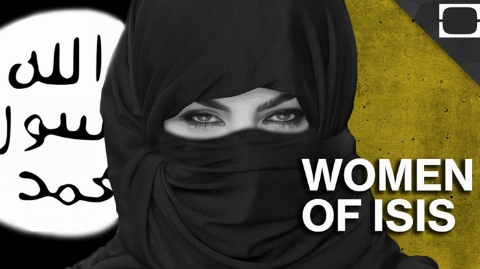 این زن فتوان روابط نامشروع برده های جنسی داعش را صادر می کرد