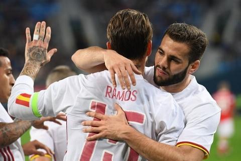 اسپانیا در یک دیدار دوستانه مقابل روسیه با تساوی ۳-۳ متوقف شد