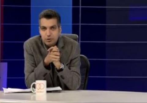 تسلیت عادل فردوسی پور به زلزله زدگان غرب کشور در برنامه نود +فیلم