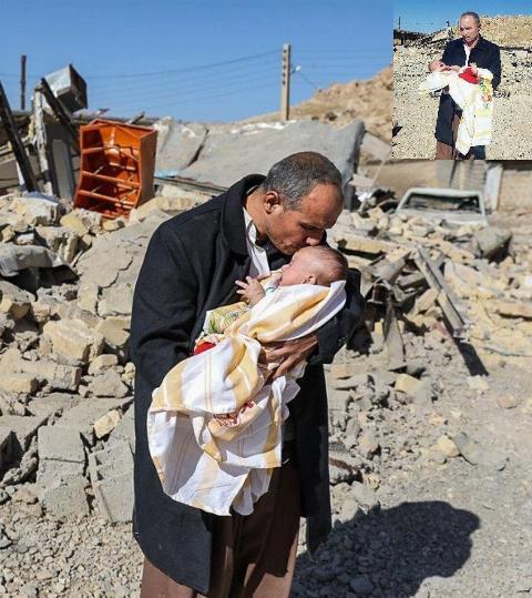 فداکارترین مادر دنیا: مادری که در زلزله جان داد تا نوزادش زنده بماند